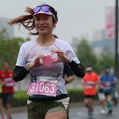 2021无锡马拉松尚贤桥北桥下桥段 拍摄时间9:30-10:40