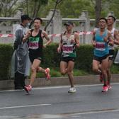 2021无锡马拉松尚贤桥北桥下桥段 拍摄时间9:12---9:50